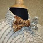 Custom Wedding Mens Bow Tie..