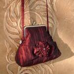 Love That Red Taffeta Purse