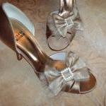 Double Bow Shoe Clips For W..