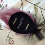 Diva Feather Fascinator Pi..