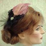 Diva Feather Fascinator Wit..
