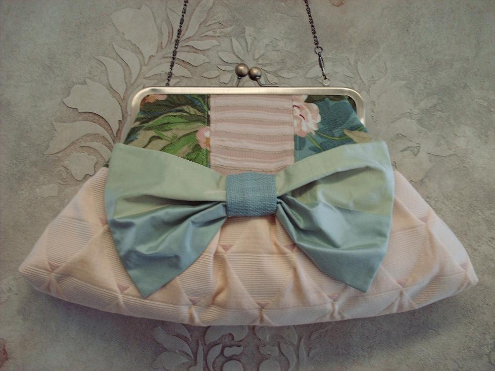 Large Clutch With Silk Bow - Small Works of Art Collection
