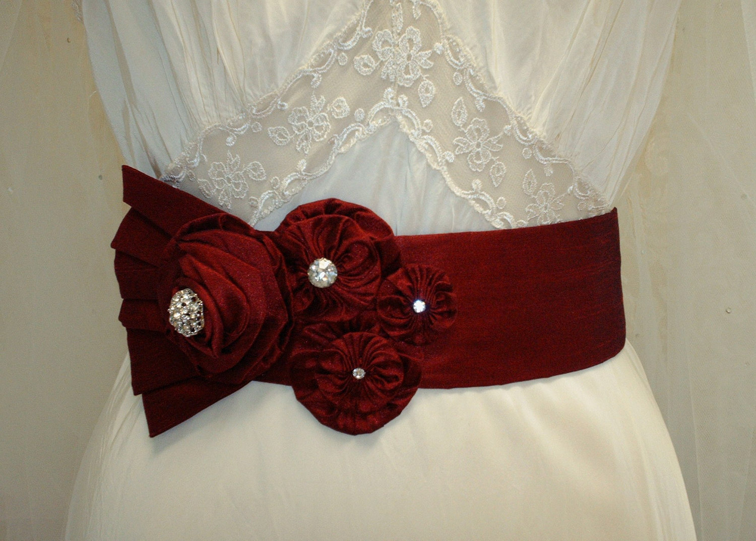 red bridal sash slash red wedding floral sash red wedding sash rhinestone sash wedding sash Red Bridal Sash Red Wedding Floral Sash Red Wedding Sash Rhinestone Sash